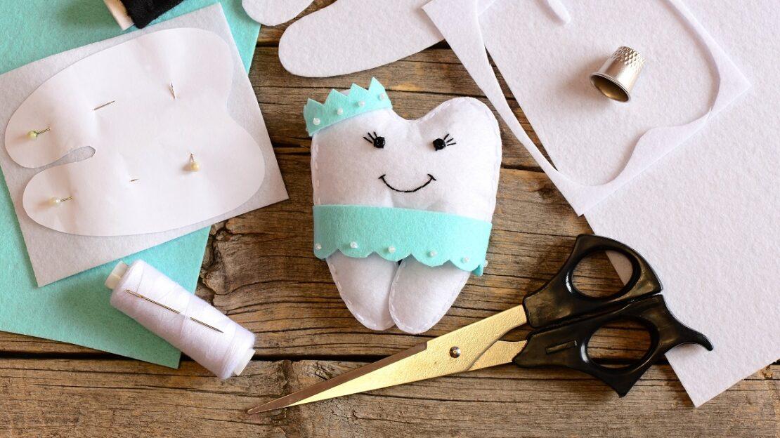 Nice felt tooth fairy pillow
